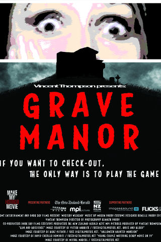 GRAVE MANOR Poster