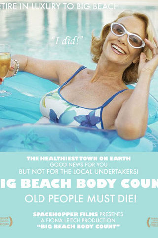 Big Beach Body Count Poster