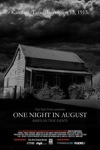 ONE NIGHT IN AUGUST Poster