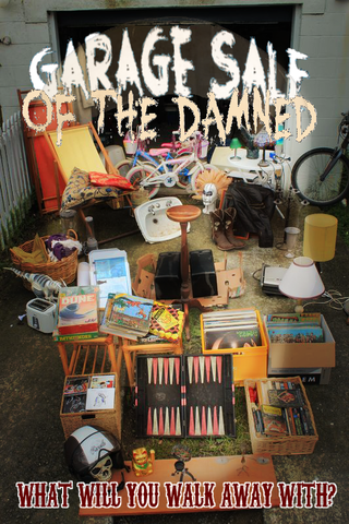 Garage Sale of the Damned Poster
