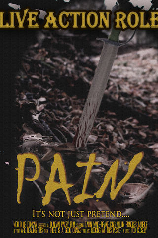 Live Action Role Pain Poster