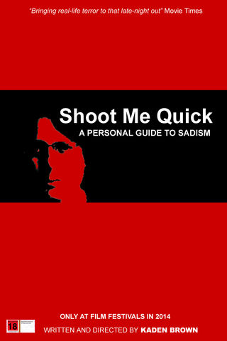 Shoot Me Quick Poster