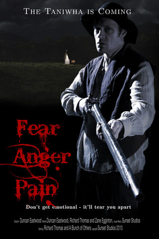 FEAR. ANGER. PAIN. Poster