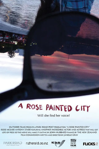 A Rose Painted City Poster