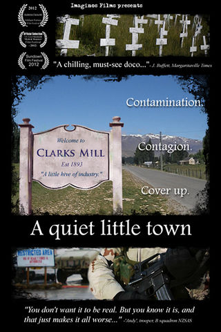 A quiet little town Poster