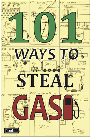 101 Ways To Steal Gas Poster