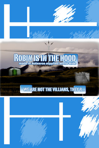 Robin is in the hood Poster