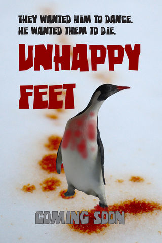 Unhappy Feet Poster