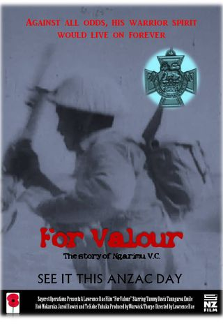 For Valour Poster