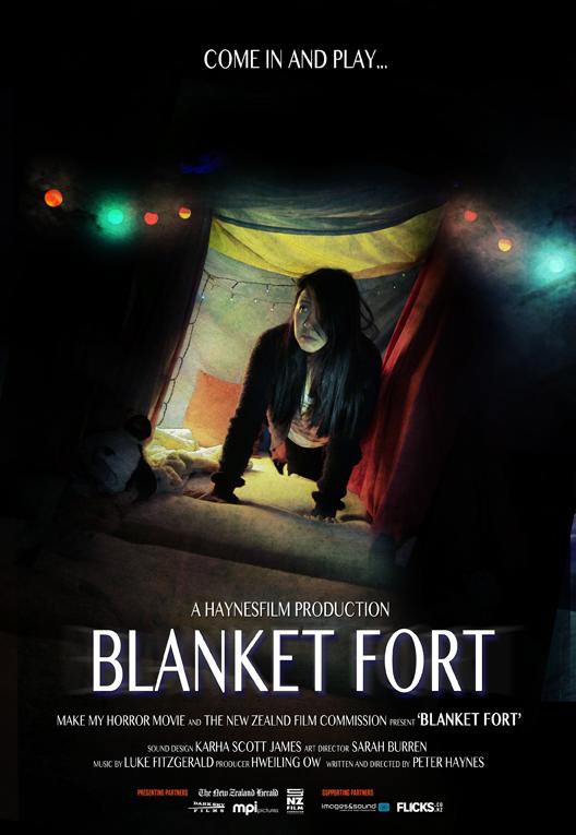 Blanket Fort LO RES blanket fort \u2022 make my horror movie