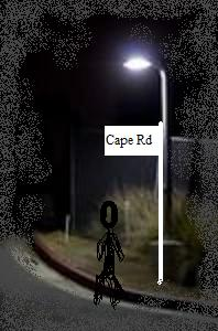 Murder on Cape Road Poster